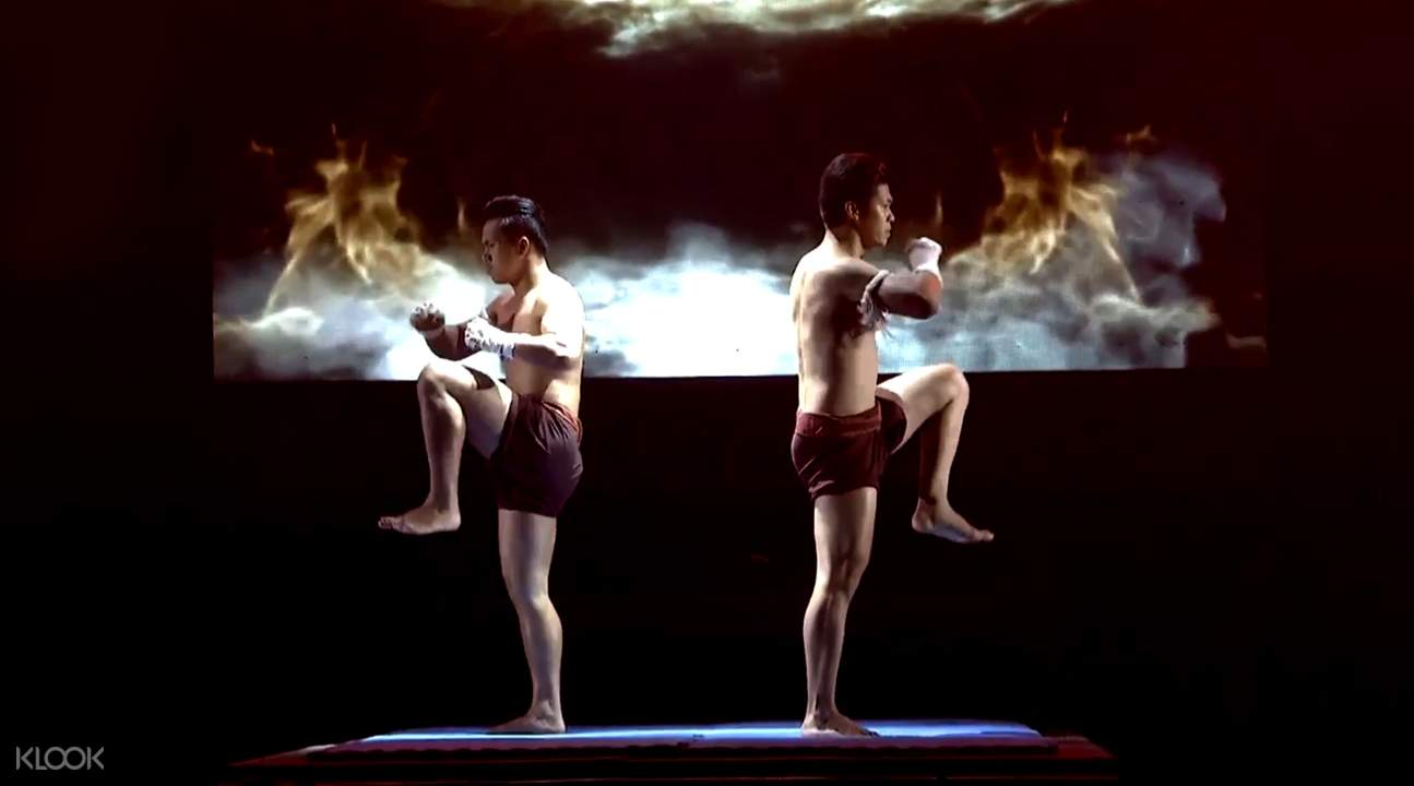 Muay Thai Live: The Legend Lives traditional performance